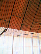 Uptown Charlotte Photos - Mint Ceiling 2 by Randall Weidner