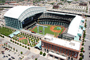 Astros Photos - Minute Maid Park Houston TX by Bill Cobb