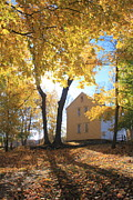 Concord Massachusetts Art - Minuteman National Historic Park Brooks House by John Burk