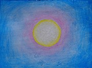 Miraculous Drawings Prints - Miracle of the Sun Print by Darcie Cristello