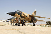 Military Base Framed Prints - Mirage F.1 Fighter Planes Of The Royal Framed Print by Ofer Zidon