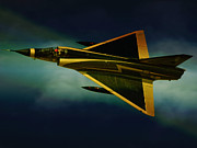 Mirage Framed Prints - Mirage III Framed Print by Paul Job