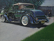 Classic Car Pastels - Mirror Finish by Randall Floyd