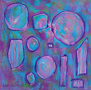 Friendly Pastels - Mirrors by Becky Roesler