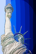 Honour Digital Art Posters - Miss Liberty Poster by Anthony Morgan