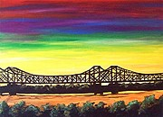 Loraine Framed Prints - Miss -  Lou Bridge  Framed Print by Loraine Griffin