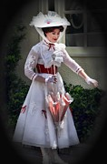 Arnie Goldstein Prints - Miss Poppins Print by Arnie Goldstein