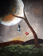 Surreal Art Paintings - Miss You by Shawna Erback by Shawna Erback