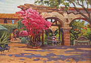 San Juan Paintings - Mission Bloom by Lynne Fearman