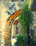 Mission San Jose Print by Beverly Theriault