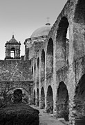 Mission Framed Prints - Mission San Jose Framed Print by David and Carol Kelly