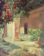 San Juan Paintings - Mission San Juan Capistrano by Lillian Winkler