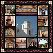 Franciscan Saints Posters - Mission San Luis Rey Poster by Art Block Collections