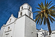 Oceanside California Posters - Mission San Luis Rey - California Poster by Jon Berghoff