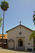 San Rafael Church Prints - Mission San Rafael 1 Print by Arnold Richardson