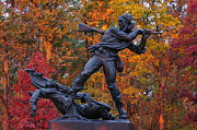 Second Day Of Battle Art - Mississippi at Gettysburg - The Rage of Battle No. 1 by Michael Mazaika