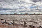 Kaypickens.com Prints - Mississippi River in New Orleans Print by Kay Pickens