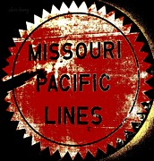 Missouri Artist Framed Prints - Missouri Pacific Lines Framed Print by Chris Berry