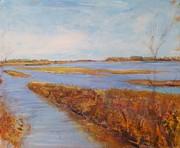 Helen Campbell - Sand Bars on the Missouri