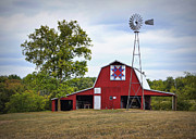 Quilt Barn Prints - Missouri Star Quilt Barn Print by Cricket Hackmann