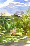 Panorama Painting Originals - Missouri View by Kip DeVore