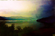 Lake Chelan Prints - Mist Print by Carla G Art Nitkey