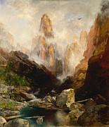 Thomas Moran - Mist in Kanab Canyon Utah by Thomas Moran
