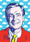 Mister Rogers Pop Art Print by Jim Zahniser