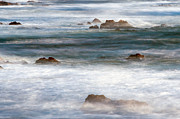 Ocean Shore Prints - Mistified Print by Paul Topp