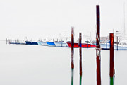 Interior Digital Art Digital Art - Misty Boats on the Outer Banks II by Dan Carmichael
