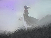 Soft Digital Art - Misty Encounter by Robert Foster