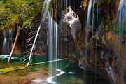 John Hoffman - Misty Falls at Hanging...