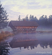 Christopher Fridley Art - Misty Morning by Christopher Fridley
