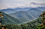 Blue Knob Mountain Posters - Misty Morning Poster by Heather Applegate