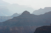 Beauty In Nature Photos - Misty Morning Silhouettes in Grand Canyon National Park by Shawn OBrien