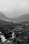 Wester Ross Prints - Misty Russel Burn Print by Chris Thaxter