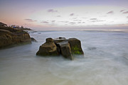 La Jolla Photos - Misty Waters by Peter Tellone