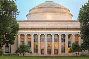 Mit Framed Prints - MIT Building 10 and Great Dome I Framed Print by Clarence Holmes
