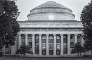 Mit Framed Prints - MIT Building 10 and Great Dome II Framed Print by Clarence Holmes