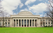 Boston Ma Prints - MIT Building 10 The Great Dome Print by Marianne Campolongo
