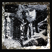 Drummer Sculptures - Mitch Mitchell by Chris Mackie