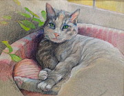 Janet Mcgrath Metal Prints - Mitzi Metal Print by Janet McGrath