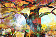 Baobab Paintings - Mixed Baobab by Fania Simon