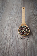 Pepper Photos - Mixed pepper grains by Sabino Parente