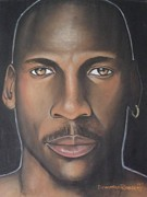 Michael Jordan Drawings - Mj23 by Demitrius Roberts