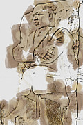 Martin Luther King Digital Art - MLK 5211 Brown Water Sketch by David Lange