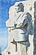 Martin Luther King Digital Art - MLK 5211 Synchro HP by David Lange