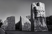 Mlk Framed Prints - MLK Memorial - Sydney Tran Framed Print by Sydney Tran