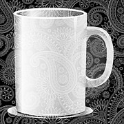 Coffee Mug Prints - Mm Mm Good 4 Print by Angelina Vick