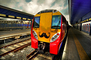 Moustache Prints - Mo Train  Print by Rob Hawkins